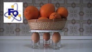 ¿Qué peso puede soportar un huevo sin romperse?