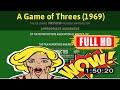 R3VIEW VL0G  A Game of Threes (1969) #8094wylqs