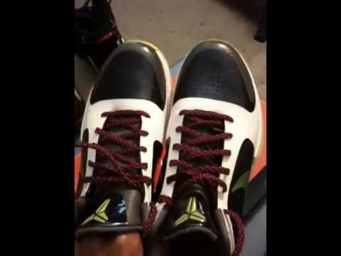 7581e76b8287 epicretros87 - Nike Zoom Kobe V Chaos - YouTube