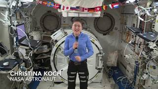 Astronaut Christina Koch Talks About Her Mission on Space Station