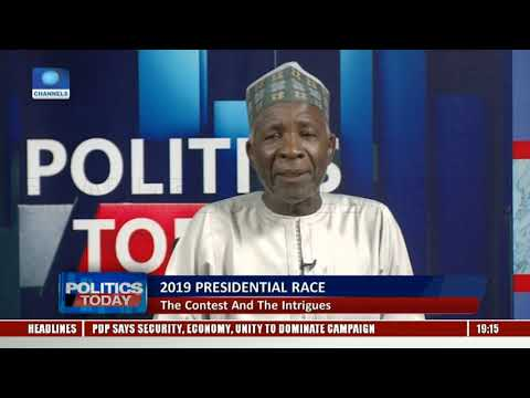 PDP Says It Won't Engage In Smear Campaign Pt.2 |Politics Today|
