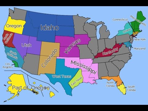 How To Memorize ALL 50 States And Locations EASY FAST AMAZING