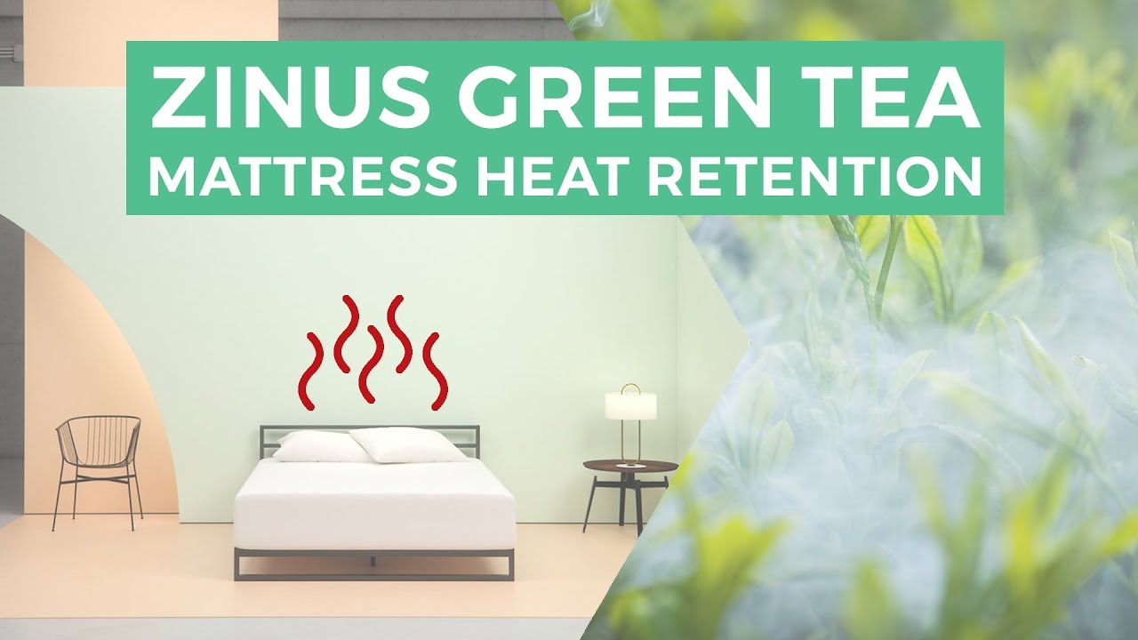 Zinus Green Tea Mattress Heat Retention Youtube