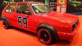 Volkswagen Golf 2 Tornado-Rot Tuning by Lexy Roxx V6 200ps, Japan Racing JR10 9j x R16