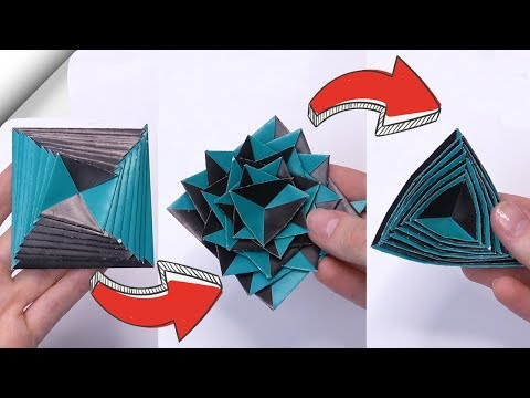 paper-toy-antistress-transformer-|-diy-crafts-easy