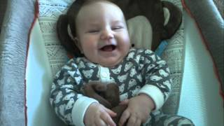 Baby Liam Laughing - 4 Months Old Thumbnail