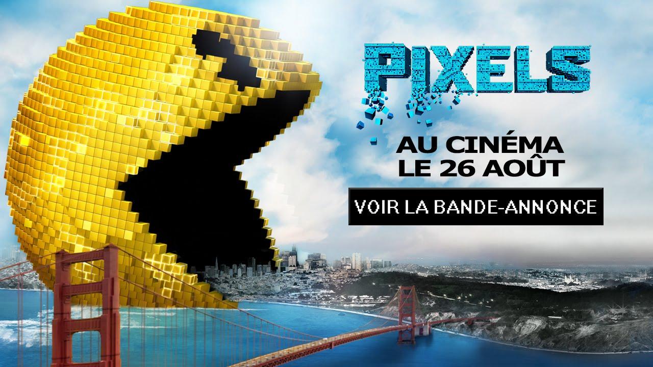 Pixels - Bande-annonce - VF - YouTube Adam Sandler