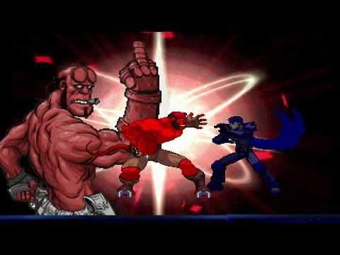 Comic Fighters Mugen (Hyper Marvel Vs. Capcom) All Super Moves