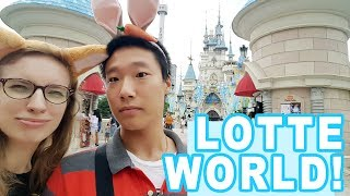 LOTTE WORLD czyli wesołe miasteczko w Seulu [Pyra w Korei]