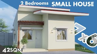 Small House Design 7x6 Meters  150k Budget