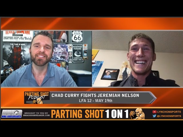 Chad Curry talks LFA 12 matchup Friday & love for ESPN's 30 for 30