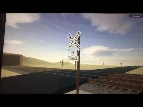 Spoorwegovergang ROBLOX // Dutch Railroad Crossing