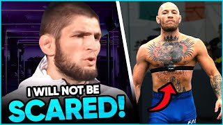 Khabib will be at UFC 257 & is NOT worried about running into Conor McGregor, Khamzat Chimaev
