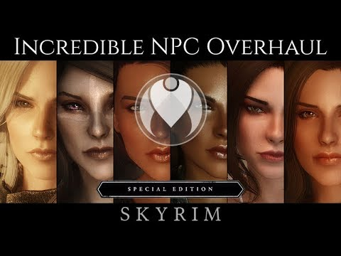 INCREDIBLE AND REALISTIC NPC MAKEOVER COMPARISON | Skyrim SE Ultra ENB  Graphics