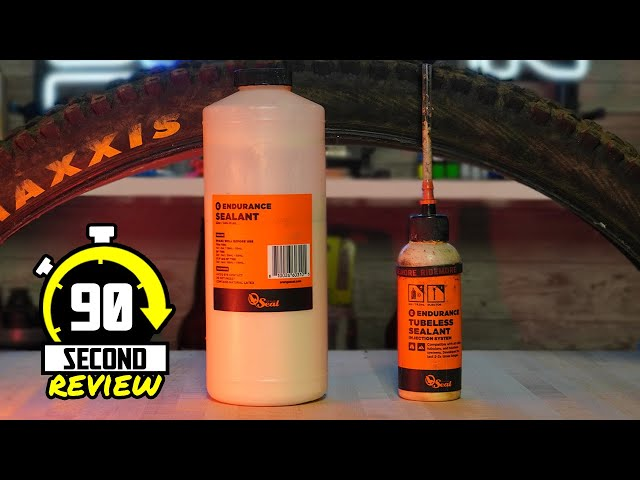 If you're going tubeless, this stuff is the best! - Orange Seal Endurance - 90 Second Review