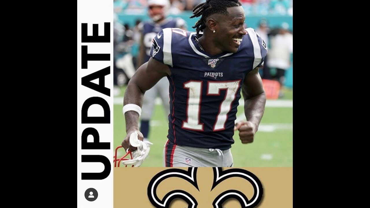 Antonio Brown works out for New Orleans Saints ahead of
