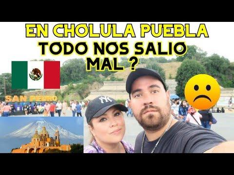 RECORRO CHOLULA PUEBLA Y TODO SALIO MAL