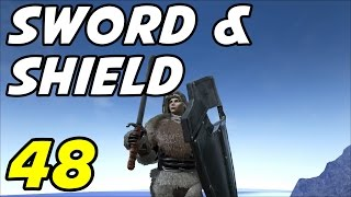 "ARK Survival Evolved E48 ""Sword and Shield!"" (Gameplay / Playthrough / 1080p)"