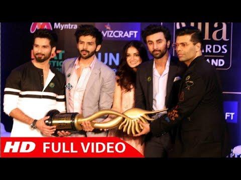 IIFA Awards 2018 Thailand - Ranbir Kapoor, Shahid Kapoor, Dia Mirza & Karan Johar Full PC