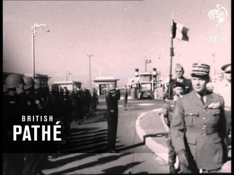French Forces Leave Port Said (1956)