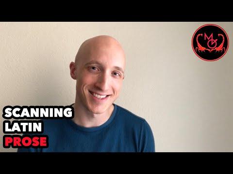 How to Pronounce Latin (Scanning Prose: Cicero in Catiline) / De Latine Pronuntiando (Prosa)