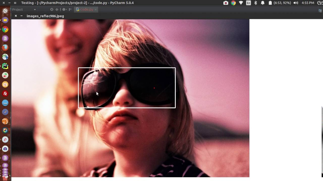 Image annotation tool in OpenCV(python)