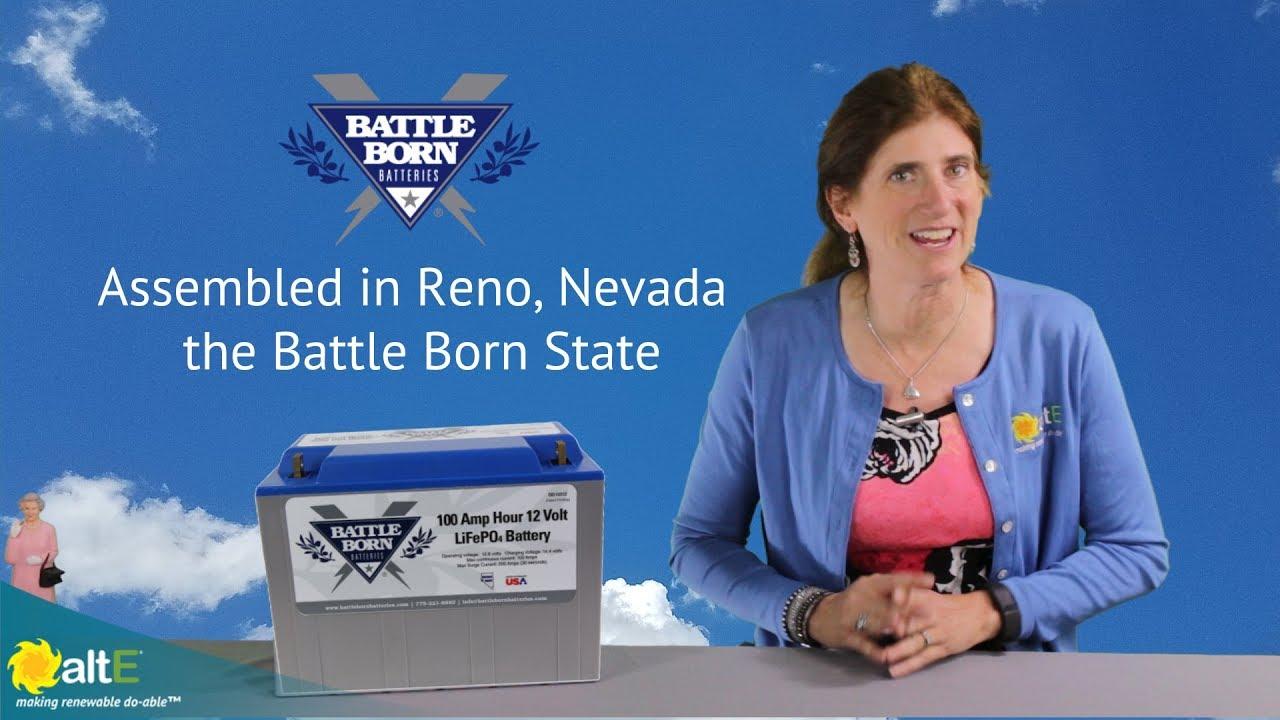 Battle Born Lithium Battery for solar