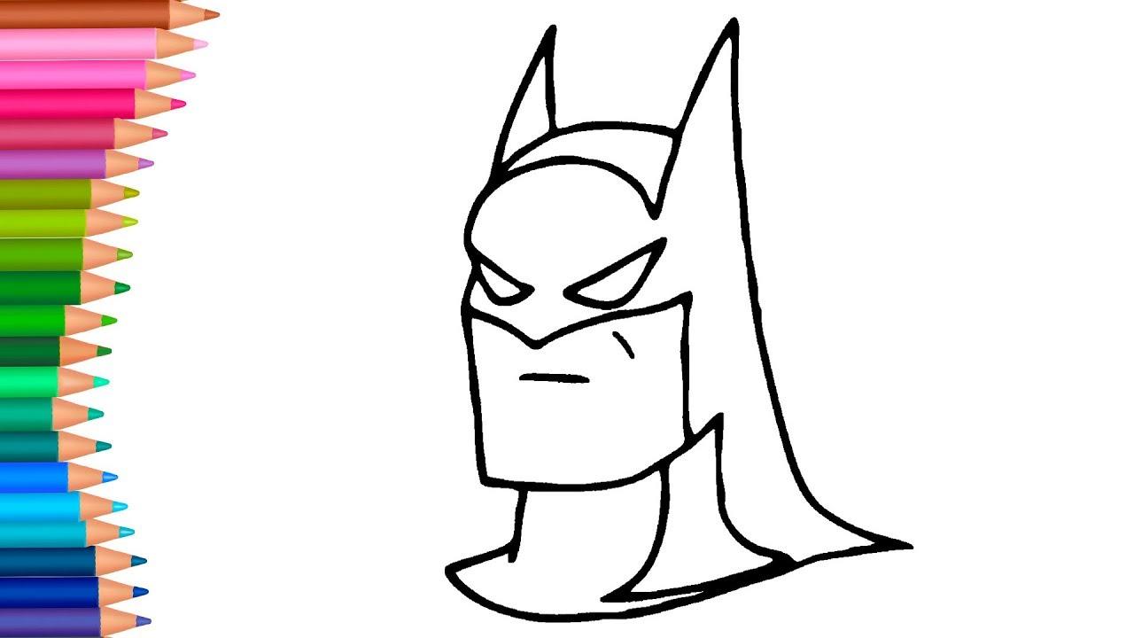 Batman Dibujos Para Colorear Dibujos Para Pintar Con Mimi
