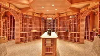 Luxury Real Estate: Three Wine Cellars, Three Personalities - Wsj Mansion