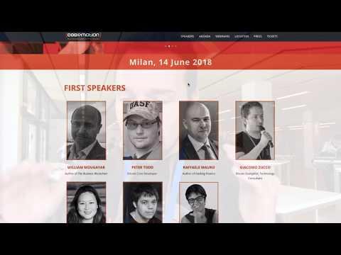 Vuoi Incontrare gli Esperti Mondiali di Bitcoin e Blockchain? And the Winner is ...
