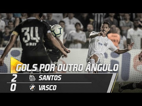 SANTOS 2 X 0 VASCO | GOLS POR OUTRO ÂNGULO | COPA DO BRASIL (17/04/19)
