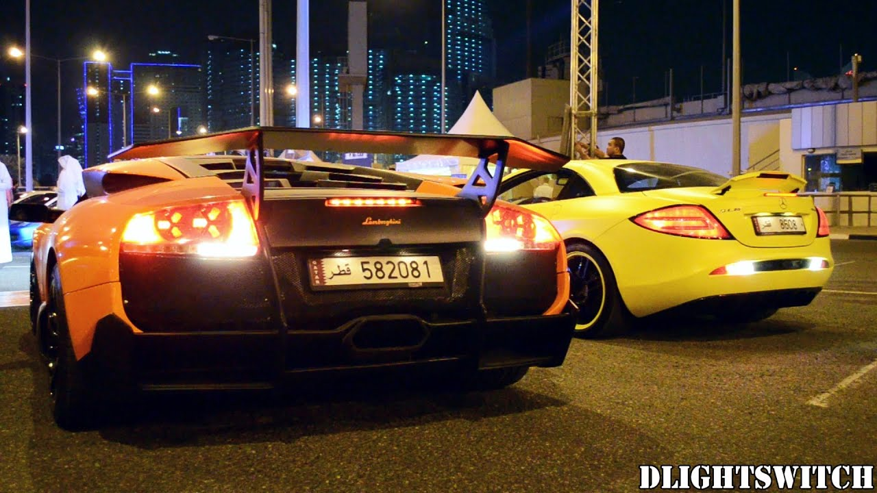 European Supercar Gathering In Qatar Youtube