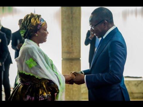 Présentation des voeux du Corps diplomatique accrédité au Bénin au Chef de l'Etat Patrice Talon