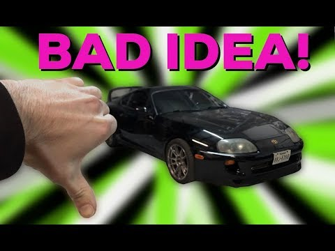 SUPRA SIZED MISTAKE! - Craigslist Paint Cabinet - Project car daily driver lost boost!