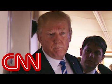 Trump breaks his silence on Stormy Daniels