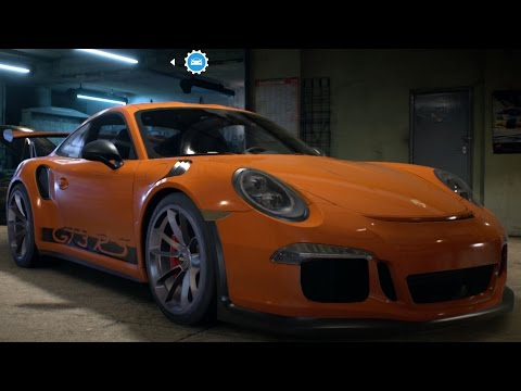 Porsche 911 GT3 RS 991 2015 - Need For Speed 2016 - Test Drive Gameplay (PC HD) [1080p60FPS]