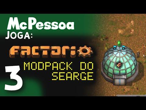 Circuito eletrônico e Bio-Farm -  McPessoa Joga: Modpack de Factorio do Searge #3