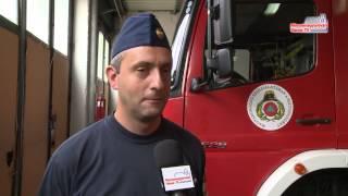 Műszaki vizsgát tettek a tűzoltók