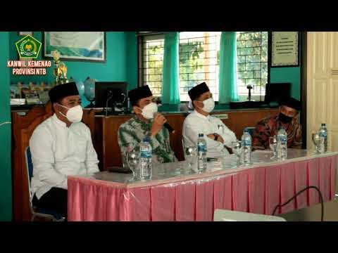 Pembinaan civitas MTSN2 Mataram Oleh Kepala Kantor Wilayah Kementerian Agama Provinsi NTB
