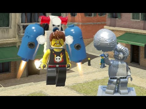 LEGO City Undercover - Fresco 100% Guide (All Collectibles)