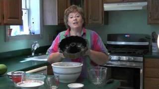 Blueberry Lemon Zucchini Bundt Cake - Jazzy Gourmet Cooking School