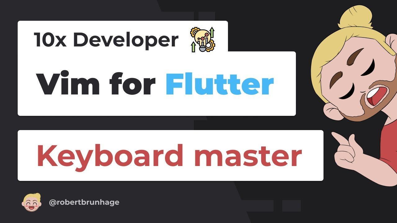 Flutter Vim Setup to Become a 10x Developer