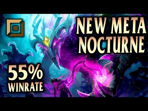 NEW ELDERWOOD NOCTURNE! NEW META NOCTURNE TOP GUIDE! - League of Legends S9