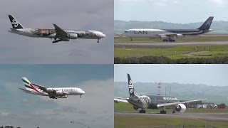 Activity at Auckland Airport (777