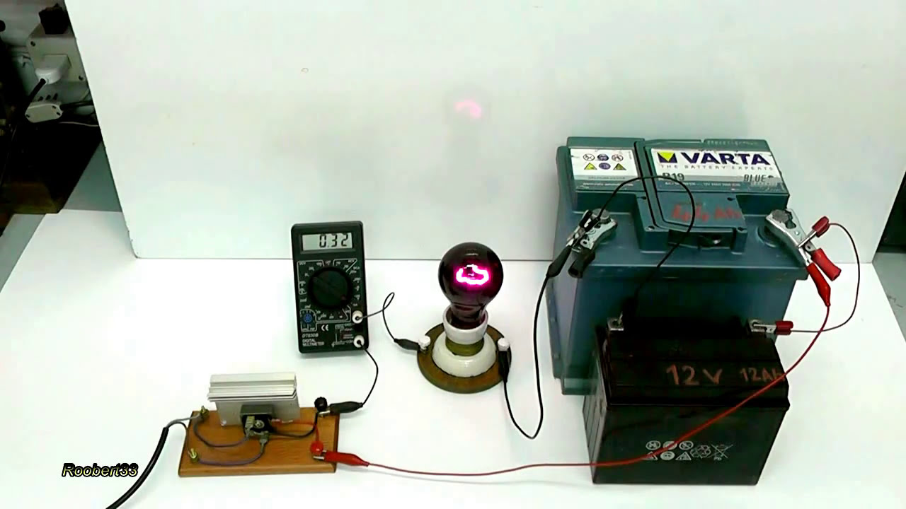 Homemade Battery Charger Constant Current Test Youtube Simple Nicd Electronic Circuits Electric Experiments Roobert33