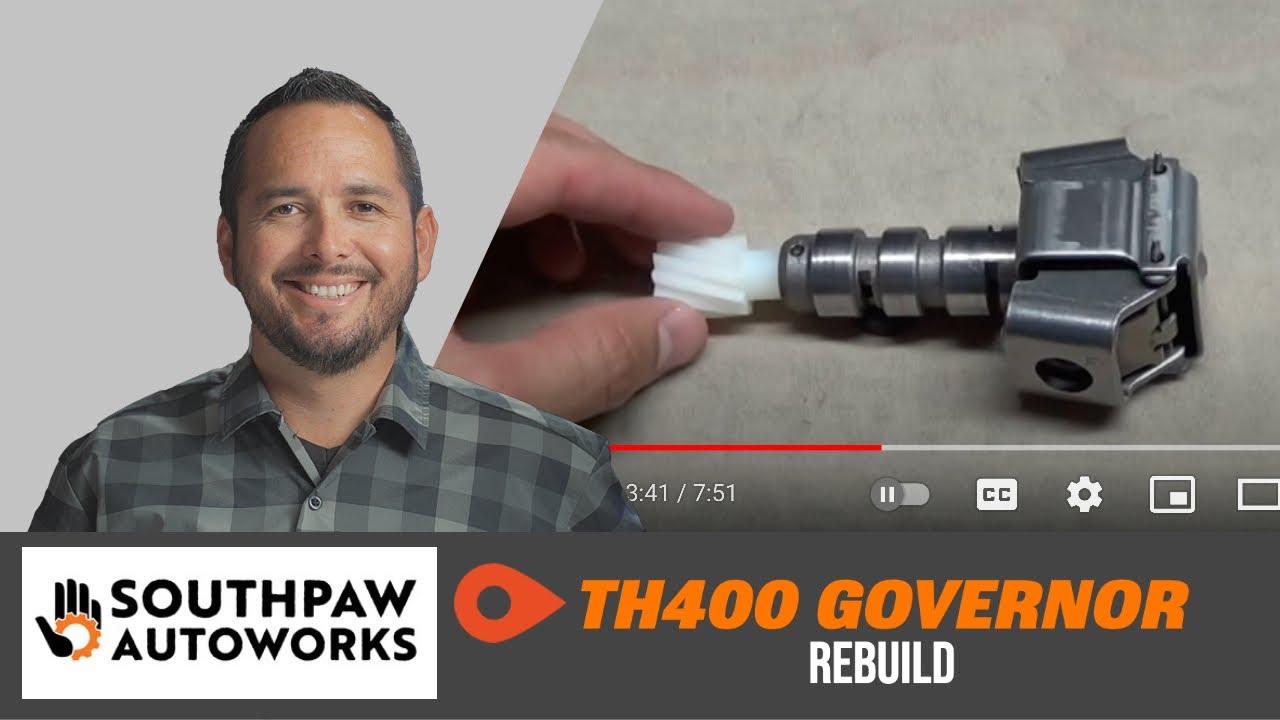 🔴 TH400 Rebuild: Governor