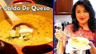 CALDO DE QUES CON PAPAS MEXICAN STYLE CHEESE AND POTATO SOUP