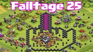 Clash of clans FAILTAGE 25 (Enough just isn