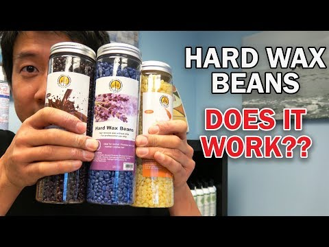 HARD WAX BEANS | DOES IT REALLY WORK? PAINLESS WAX? (REVIEW, DEMO & GIVEAWAY)