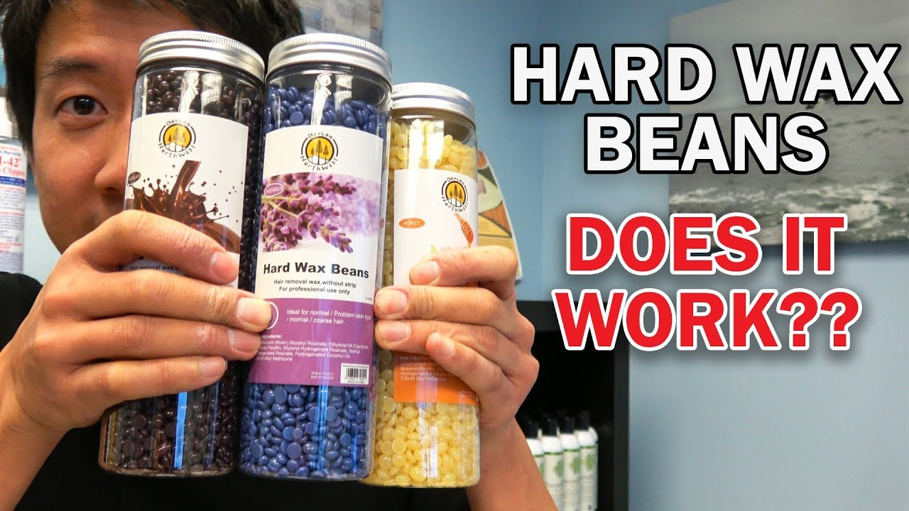 Hard Wax Beans Does It Really Work Painless Wax Review Demo Giveaway Youtube